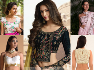 How To Adorn Different Types Of Saree Blouse Designs